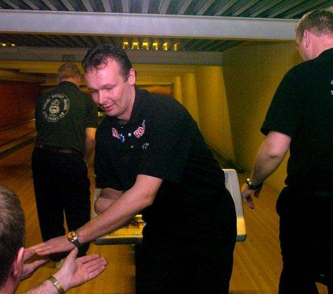 Jubel: Ronny Moen og de andre Sølvkula-gutta herjer i 1. divisjon så langt.  foto: cato martinsen