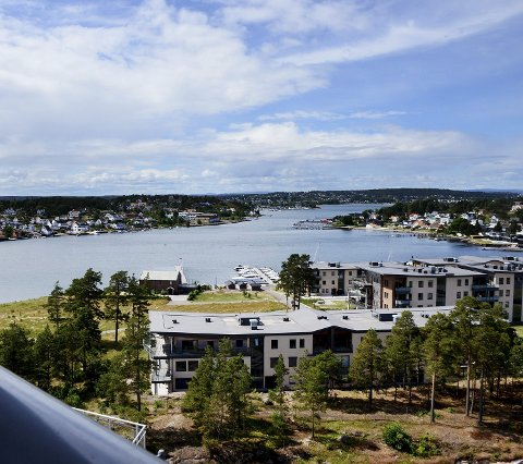 Eiendomsmeglerbransjens prisstatistikk for oktober viser rekordsalg for denne høstmåneden å regne. Her fra Jarlsø i Tønsberg.