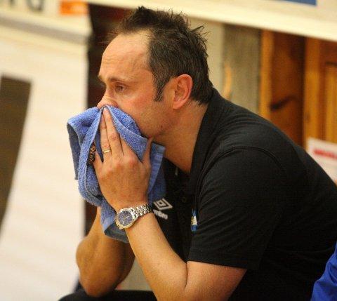 LITT skuffet: Trener Dusan Poloz var litt skuffet over at det ikke ble poeng når BSK/NIF var så nære.