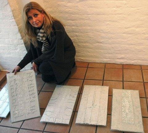FRAGMENTER: Aino Jensen åpner ny utstilling i Oslo torsdag.