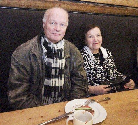 FORANDRING: Herman Bonde og Mary Solli setter pris på å komme seg ut på tur.