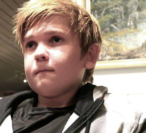 Alexander Ski Aasberg går inn i kommunestyret i Råde som 15-åring. (Foto: John Johansen)