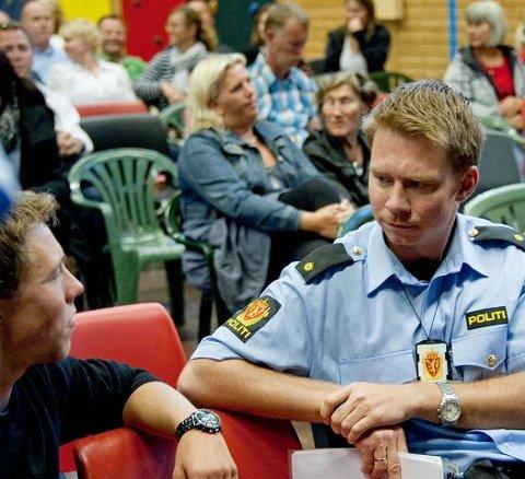 Få oppdragStian K. Ørjasæther i politiet kunne opplyse om at de hadde flere oppdrag til private hjem enn til boenhetene det var snakk om på gårsdagens møte.