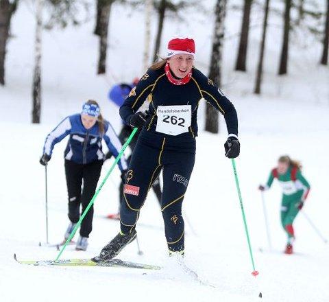 Mille Bøhm Syversen (BSK) kjempet seg opp den bratte motbakken, og det endte med gull i klassisk.