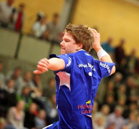 Tre mål: Anders Tverdal scoret tre mål for BSK/NIF.