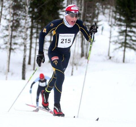 Sigurd Lund Røer (BSK) gikk glimrende i klassisk, og ble kretsmester med femten sekunders margin til nummer to.