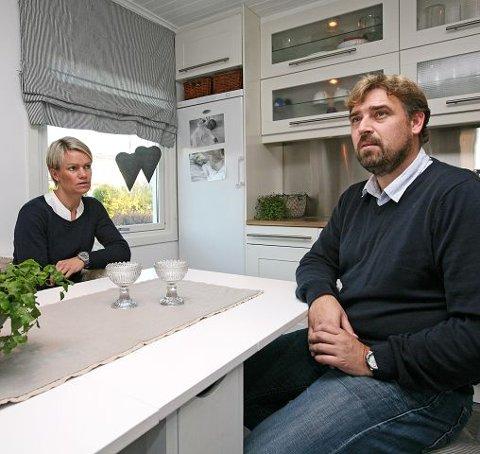 For åtte år siden mistet Vibeke og og Jan Anders Syvertsen sin Nora.