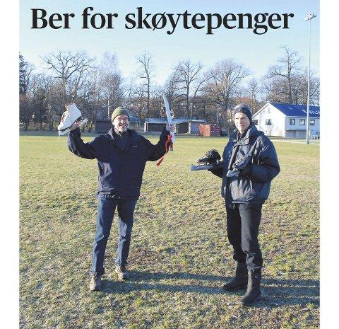 FAKSIMILE: Gjengangeren mandag 25. november 2013.