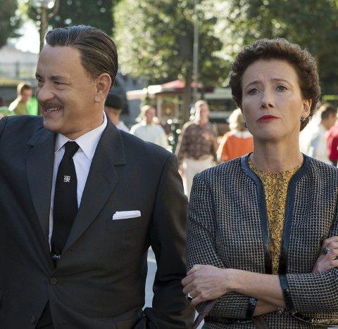 Dyktige: Tom Hanks og Emma Thompson.foto: Filmweb.no