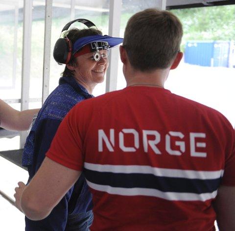 Målfrid Vannebo fikk med seg både sølv og bronse fra NM indivduelt, i tillegg til flere lagmedaljer.