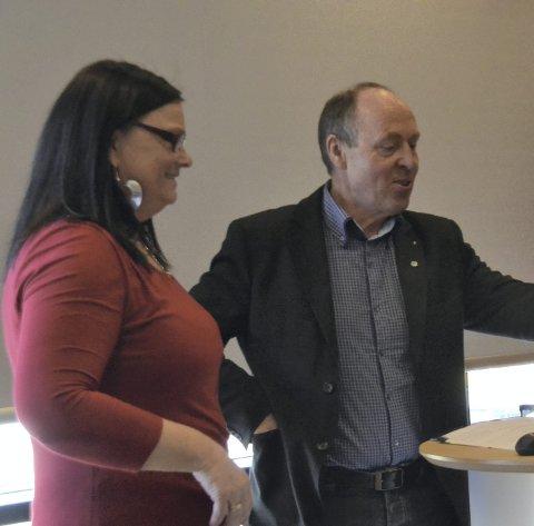 Ruth Eriksen ønsker å følge Arne Bergsvågs eksempel og ta med kommunen sin fra Hordaland til Rogaland.