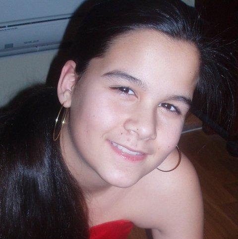 14 år gamle Sharidyn Svebakk-Bøhn fra Drammen