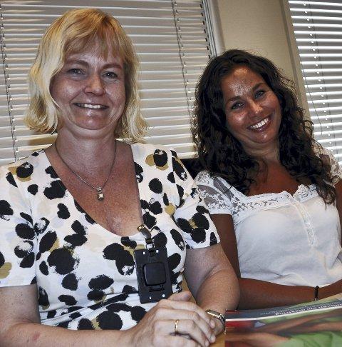 JUBEL: Linda Ferner og Marianne Ødegaard er glad for prosjektmidler.foto: G. Larsen