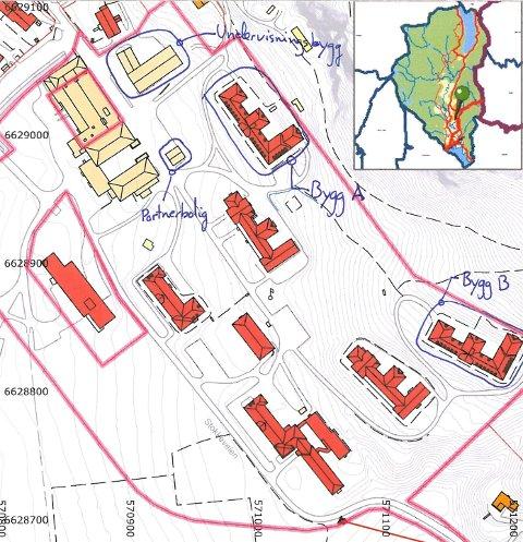 kart over lier Drammens Tidende   Nå er Lier sykehus til salgs kart over lier