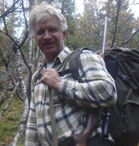 Lærer: Halvor Garås er lærer på skogskolen i Saggrenda.