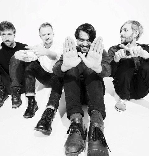 Tilbake til moss: Øreåsen-bandet Beezewax har høstet mange gode ord for sitt nye album, «Tomorrow». FOTO: Presse