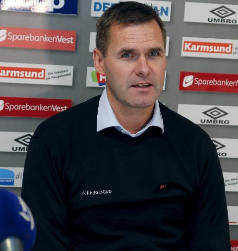 – LITT MYE: Sportssjef Asbjørn Helgeland innrømmer at elleve spillere på utgående kontrakt er «litt mye». foto: alfred aase