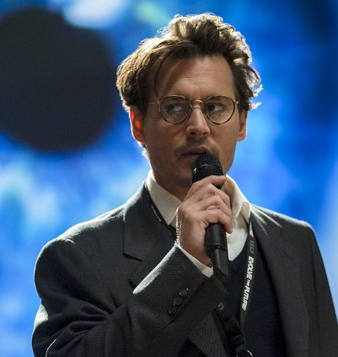 Sciencedrama: Johnny Depp som forsker i «Transcendence».