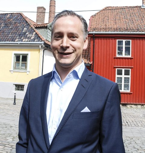 Styreleder: Kristian Voie Danielsen.Foto: Jon Gran