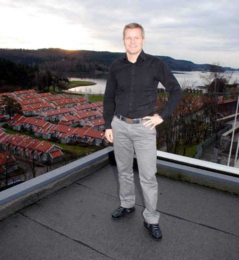 Salgs- og markedssjef Ole Georg Nilsen sier det skal investeres over én milliard kroner fram til 2020. Arkivfoto: Paal Even Nygaard