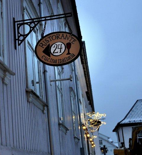Ristorante 24 i Storgaten i Son.