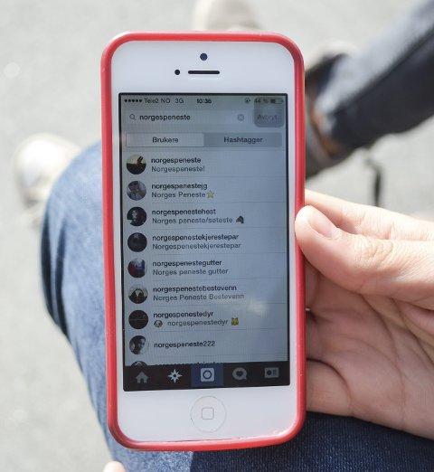 På Instagram og Facebook finnes det hundrevis av sider som deler ut karakter på utseende til barn og unge.