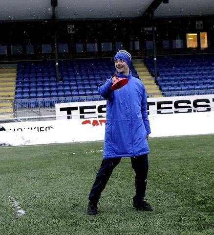 A-lagets nedrykk fra 2. divisjon har ikke fått Leif Helge Nordahl og DFK til å gi opp satsingen.