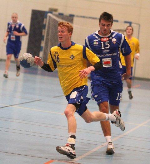 Løp i fra: Espen Røhmer og BSK løp i fra Eivind Tangen og Fyllingen etter pause da bergenserne ble slitne.