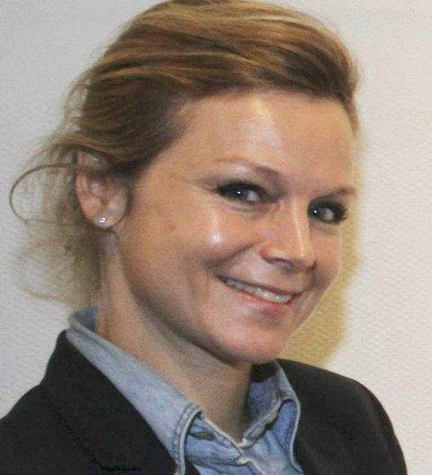 Kafékunst: Anja Bjørshol viser en installasjon i Kafé Nyt.
