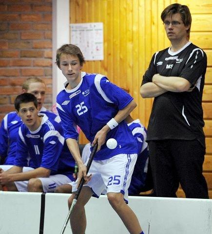Jørgen Becher (16) scoret sine første mål for A-laget til NOR 92.