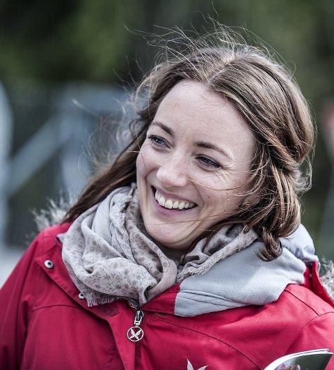 PÅ JOBB: Linn Marie Heimberg (31) har vært ansatt som klima- og miljøvernrådgiver i Ski siden september i fjor.     FOTO: CHRISTIAN CLAUSEN