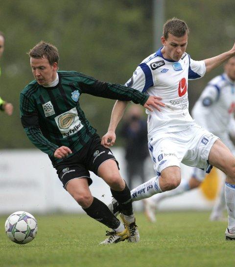 Vil hjem: Staal Jørpelands Øyvind Hompland (t.v.).