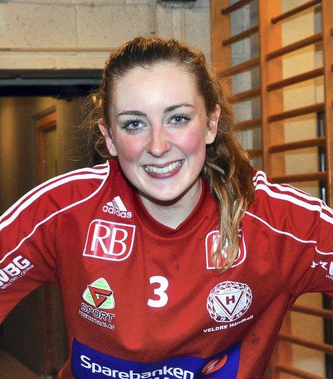 Helten: Lise Byenstuen scoret seiersmålet.