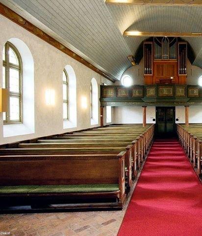 Staselig Kirkeorgelet med sine piper er ikke som andre orgler.
