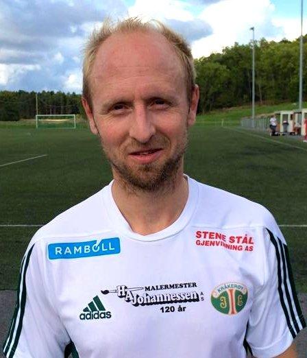 Hans Erik Ramberg debuterte lørdag for Kråkerøy