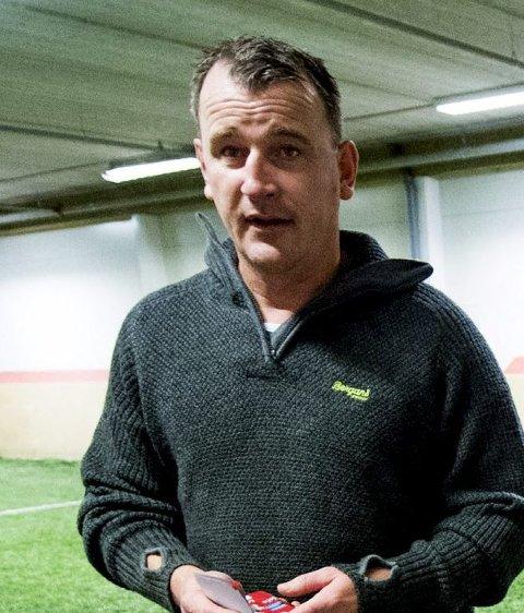 Biffen: FFKs spydspiss Lars Petter Hansen leder laget.