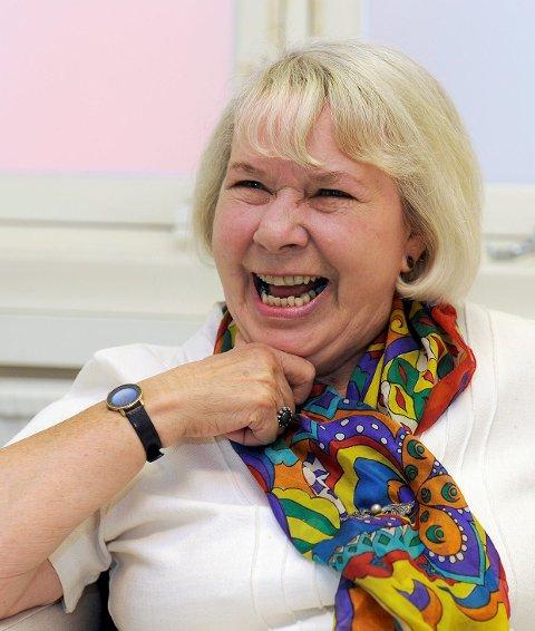 Stolt: – Heia Christian, sier tidligere rektor Elisabeth Norr.