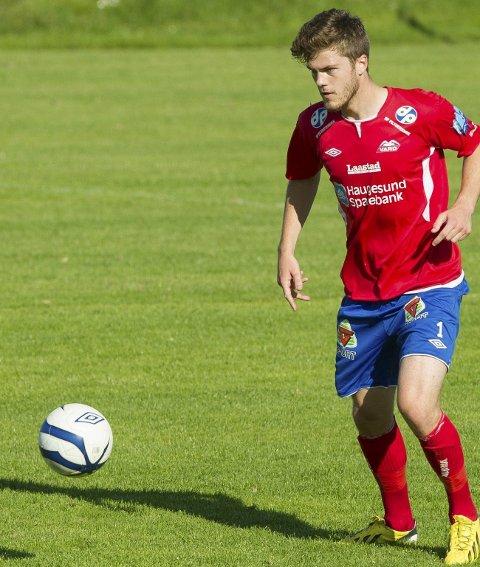 Målscorer: Oliver Kirk Larsen scoret Vards første mål i sin første kamp etter skade.