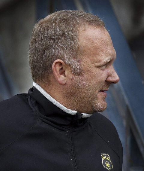 MFKs nye leder, Thomas Thorkildsen, må se langt etter penger på Melløs. Foto: Geir Hansen