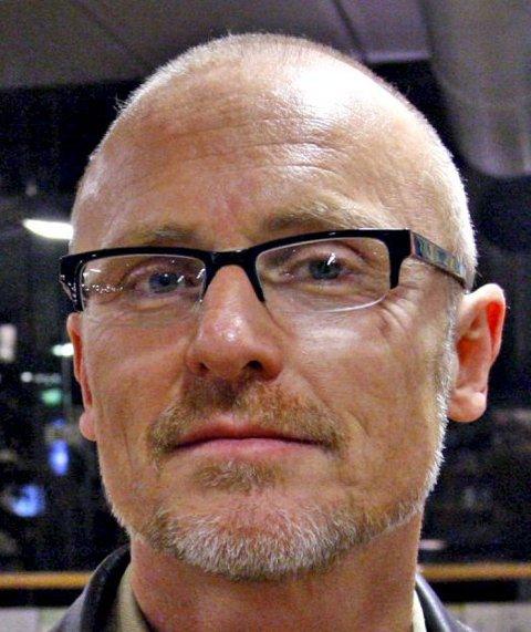 Lars Egeland, gruppeleder for SV i Tønsberg bystyre