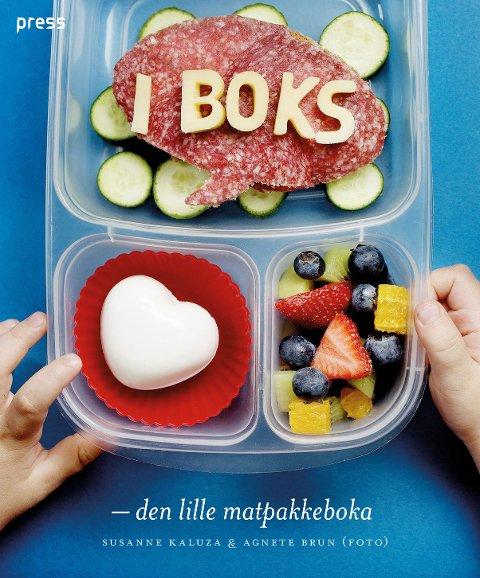 «I boks – den lille matpakkeboka» er skrevet av Susanne Kaluza. Bildene har Agnete Brun tatt.