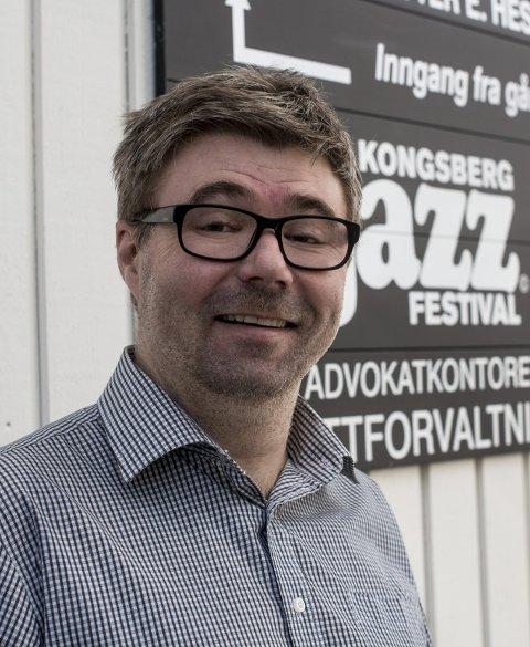 Offensiv: Festivalsjef Kai Gustavsen.Foto: Isaksen
