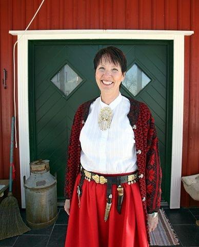 ROMANTISK: Ann Elizabeth Molvig vil leve av og for bonderomantikken.