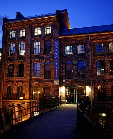 Frps Erlend Wiborg sa ja til å ta betalt på museet. Han frykter at mindre penger betyr at man etterhvert kan risikere å måtte nedlegge by- og industrimuseet. Foto Pål Andreassen