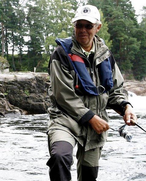 Holmfoss laksefiske
