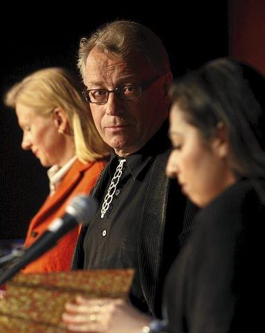 Den tidligere stortingsrepresentanten og Høyre-profilen Hallgrim Berg har deltatt i en rekke offentlige debatter og argumentert for at islam truer Europas kulturarv. Her fra en debatt om norske verdier på Litteraturhuset i Oslo i 2009.