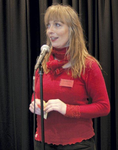 LEDER: Kulturhusleder Durita Brattaberg er spent på hverdagen i det nye kulturhuset.