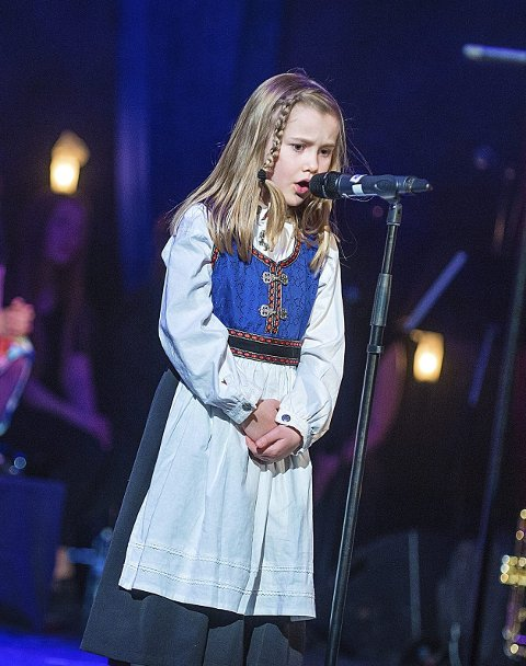 BÅNSULL:  Charlotte sang bånsullen «Sulla meg litt».