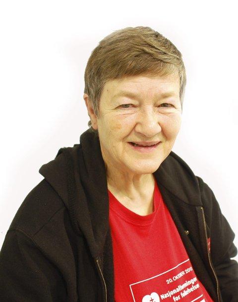 Primus motor: Karin Carlson er fylkesleder i Nasjonalforeningen.