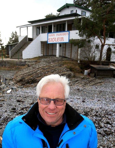 ONKEL TOMMS HOLME: Tomm Murstad kan ikke tenke seg noe bedre i livet enn å drive sjøleir på Høyerholmen.